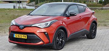 Rijden met Toyota C-HR 2.0 High Power Hybrid