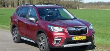 Rijden met Subaru Forester e-boxer Premium