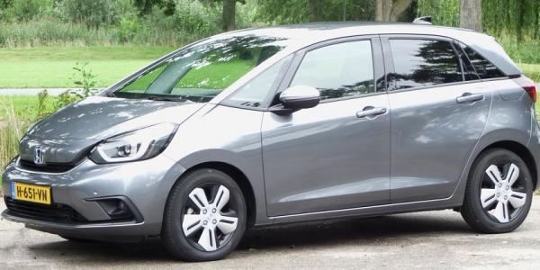 Rijden met Honda Jazz e:HEV