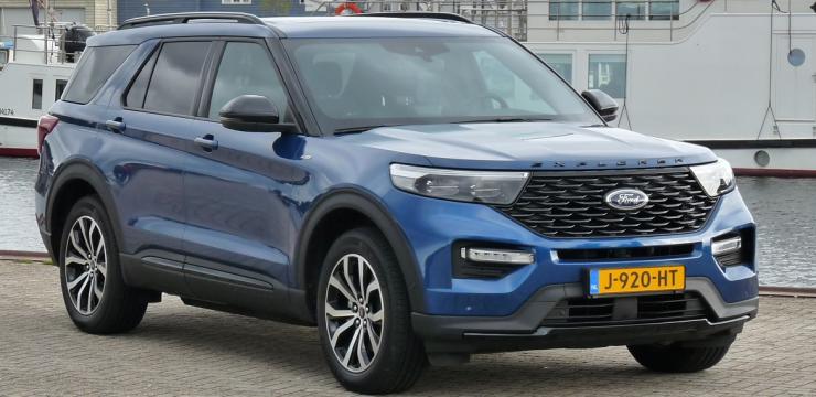 Rijden met Ford Explorer Plug-In Hybrid