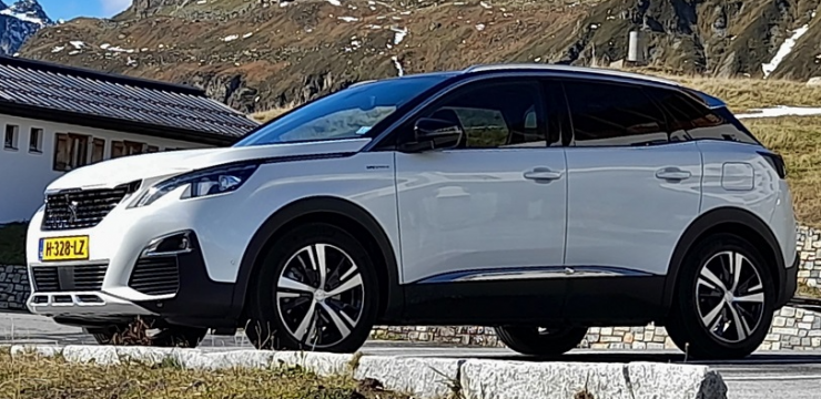 Rijden met Peugeot 3008 Hybrid4