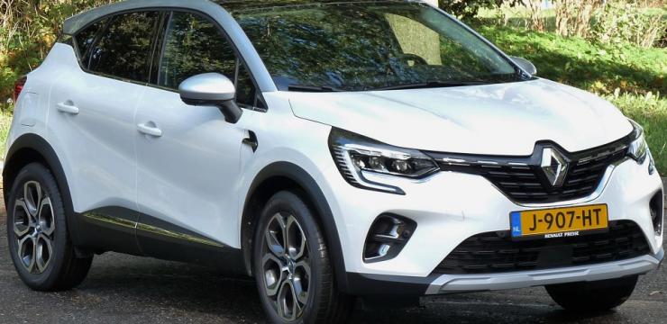 Rijden met Renault Captur E-TECH